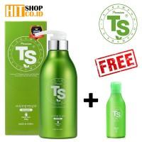 Premium TS Shampoo - Shampo untuk Rambut Rontok (500ml + Free 100ml)