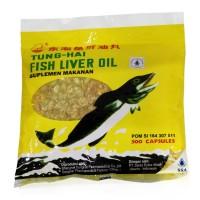 Minyak Ikan Tung Hai Fish Oil 500 Kapsul