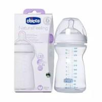 Botol Susu Bayi Chicco Natural Feeling Bottle 330ml 6m