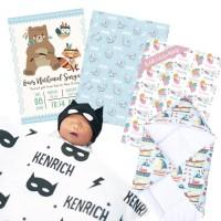 selimut custom anak / selimut custom bayi / bed cover custom