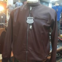 Jaket Kulit Red Move Outerwear