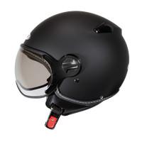 Helm Half Face zeus 210 Black Matt, not nolan, airoh, agv, kyt, ink