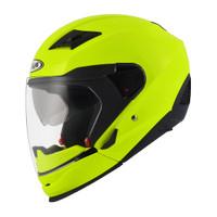 Helm Modular zeus 611c Fluor Yellow, not nolan, airoh, agv, kyt, ink