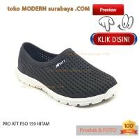 NO 40 PRO ATT PSO 159 HITAM sepatu pria sepatu slip on karet