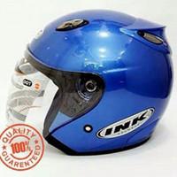 Helm INK Centro SNI warna Biru Metalik - bukan KYT - NHK - Bogo - Anak
