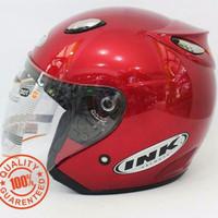 Helm INK Centro SNI warna Merah Maroon - bukan KYT - NHK - Bogo - Anak