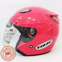 Helm INK Centro SNI warna Pink Magenta - bukan KYT - NHK - Bogo - Anak