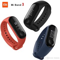 100% Original XIAOMI Mi Band 3 Strap Miband 3 Wristband Gelang Silicon