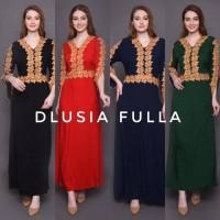 DRESS ARAB BUSUI DLUSIA FULLA RENDA GOLD