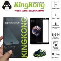 Xiaomi Redmi Note 5 Pro Full Cover Tempered Gorilla Glass by Kingkong