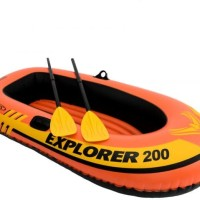 Perahu Karet Explorer 200 intex 58331 free pompa dan dayung