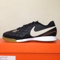 Sepatu Futsal Nike Legend 7 Academy 10R IC Black Gold AQ2217-027 Ori