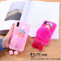 OPPO A3S cASE HP SOFTCASE CUTE DOLL