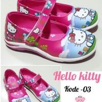 Sepatu Anak Perempuan Kabocha Hello Kitty Biru - 26, Fuchsia
