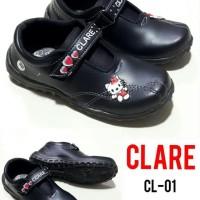 Sepatu Anak Perempuan Hitam Clare Cl-01 Hello Kitty