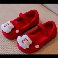 Sepatu Anak Cewek / Sepatu Santa Claus Christmas Teenager