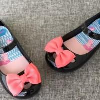 Sepatu Anak Cewek Rusty Ribbon Black Shoes