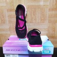 Sepatu Anak Skechers Comfy Original / Slip On / Santai / Black / Murah
