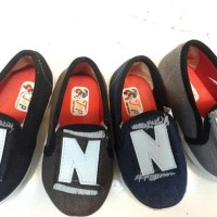 Sepatu Anak Flat Shoes Top Denim