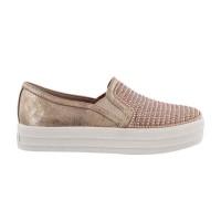 Sepatu Anak Skechers Double Up-Shiny Dancer, Rose Gold. 84999Lrsgd -