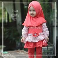 Dania Legging Set - Baju Muslim Balita - Setelan Blouse Pesta Anak