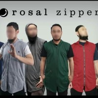 Rosal Rompi sholat solat shalat Zipper hoodie