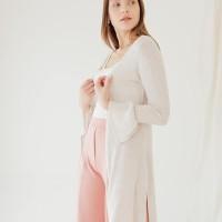 White Mode Amara Cardigans - XL