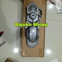 11340B13H00N000 Cover Bak CVT Suzuki Skywave 125 Warna Silver Ori 17