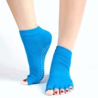 New Yoga socks toe kaos kaki yoga pilates ankle grip non slip high