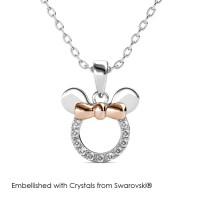 Micky Pendant - Kalung Crystal Swarovski® by Her Jewellery