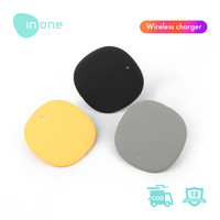 INONE Q1 Smart Quick Charge Type-C Fast Charger Universal Ultra-thin - Abu-abu