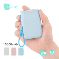 INONE Power Bank P10 Dual USB Mini Size P10 10000mAh - Blue