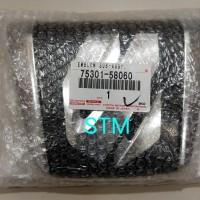 Emblem Grille Radiator Alphard Asli 75301-58060