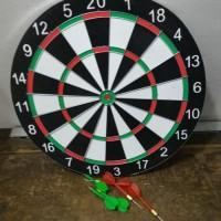 Dart Game 17 inchi Double Side / Bolak Balik