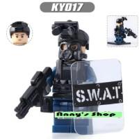 Brick - SWAT Riot Police Army Terorist Lego Tanpa Dus