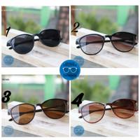 kacamata sunglasses oval kekinian pria wanita