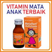 Paket hemat vitamin terbaik mata anak 3 botol BETAFORT