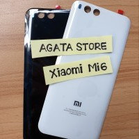 Casing Belakang Xiaomi Mi6 Original - Back Door / Cover Mi6 Mi 6 Ori