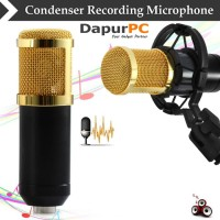 Professional Condenser Studio Microphone with Shock Proof Mount