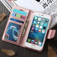 Case Casing Hanman Asli Mewah Magnetic Dompet untuk iPhone 6 6 S 7 8