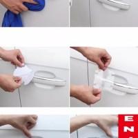 stiker anti gores pelindung gagang pintu mobil sienta