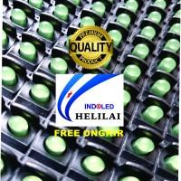 P10 Green FULL OUTDOOR merek HLL - Tahan Air (lampu LED besar)