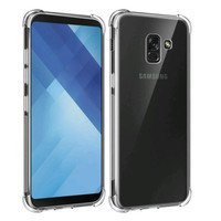 Case Anticrack Fiber Samsung Galaxx A8 2018/Anti Crack Knock Shock