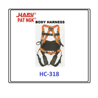 FULL BODY HARNESS / SAFETY BELT / SABUK PENGAMAN HC-318 HARU