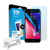 ORIGINAL WHITESTONE DOME FULL ADHESIVE TEMPERED GLASS IPHONE 8 / 7