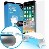 ORIGINAL WHITESTONE DOME FULL ADHESIVE TEMPERED GLASS IPHONE 8 PLUS