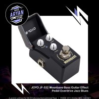 JOYO JF-332 Moonbase Bass Guitar Effect Pedal Overdrive Jazz Blues