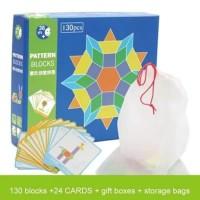 Mainan edukasi anak puzzle Tangnam/Jigsaw pattern block susun