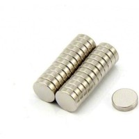 Magnet Neodymium Coin Diameter 8 mm Diameter 2 mm Kuat Super Strong Un