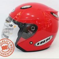 Helm INK Centro SNI Merah Ferarri Cabe - bukan KYT - NHK -Bogo - Anak